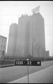 This is the 1940 view of the building in the photo on the left. The UN had yet to be constructed and 42 street had yet to be widened to its current measurements.