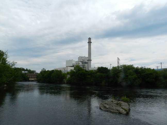 Former James River Paper Mill